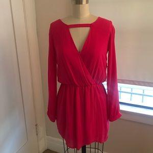 Hot Pink Nordstrom short dress